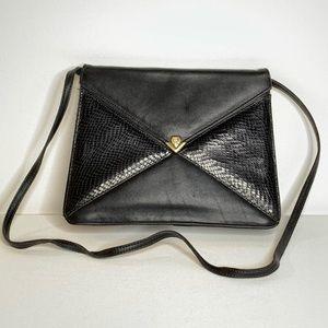 {Etienne Aigner} Handmade Leather Vintage Purse